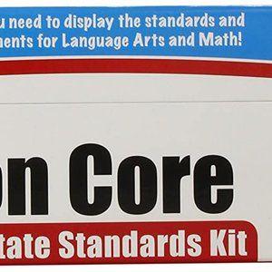 Complete Common Core Poster Kit Grade 4 Language Math